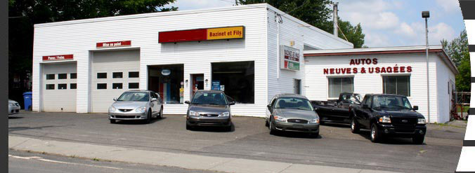Garage Bazinet et Fils Waterloo Estrie